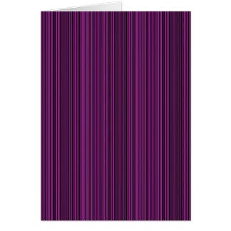 Purple lines card