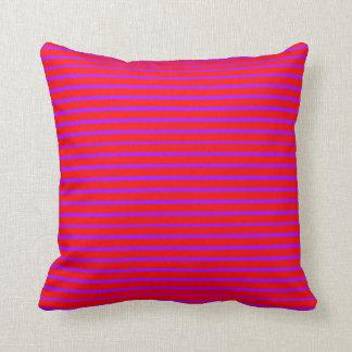 Purple Lines Decor-Soft Pink Pillows