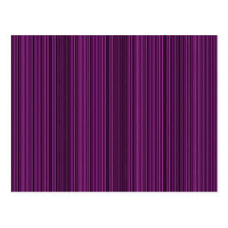 Purple lines postcard