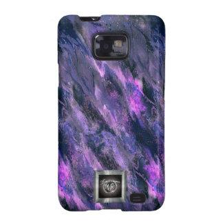 Purple Liquid camo Samsung Galaxy S2 case