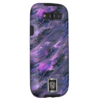 Purple Liquid camo Samsung Galaxy S3 case
