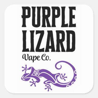 Purple Lizard Vape sticker