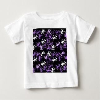 Purple lizards pattern baby T-Shirt