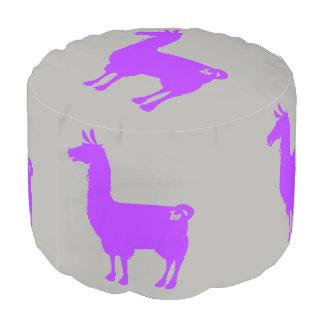 Purple Llama Pouf