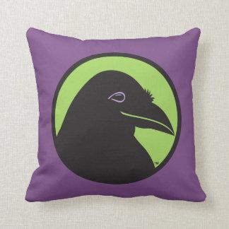 Purple Logo Pillow