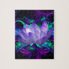 Purple lotus flower and its meaning jigsaw puzzle