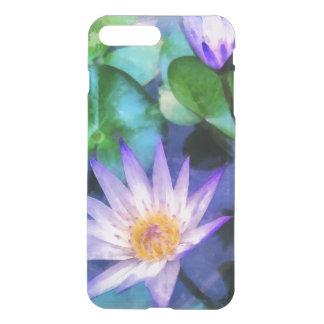 Purple Lotus Watercolor iPhone 8 Plus/7 Plus Case