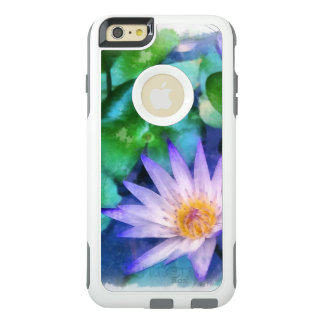 Purple Lotus Watercolor OtterBox iPhone 6/6s Plus Case