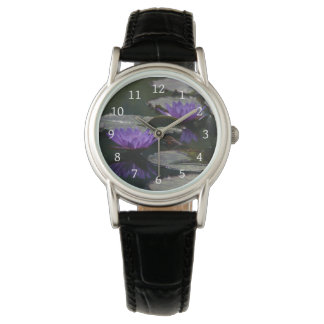 Purple Lotus Waterlilies Watch