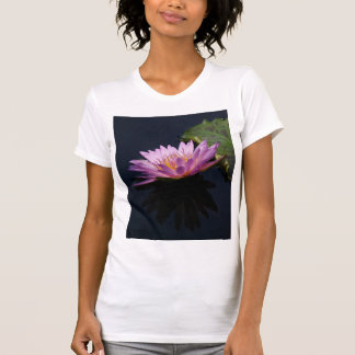 Purple Lotus Waterlily T Shirt