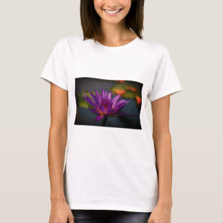 Purple Lotus Waterlily T-Shirt