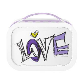Purple LOVE Lunch Box— Trendy & Elegant Lunch Boxes