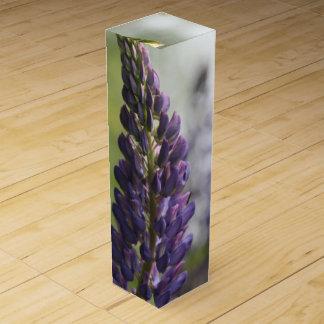 Purple Lupine Wine Box
