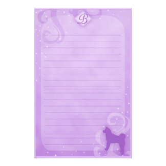 Purple Magic Japanese Akita Stationery