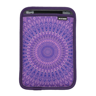 Purple mandala iPad mini sleeve