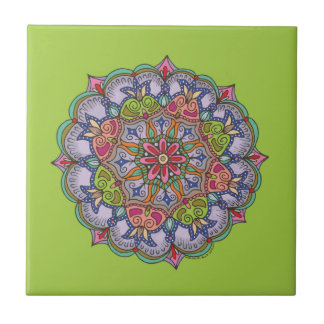 Purple Mandala Tile