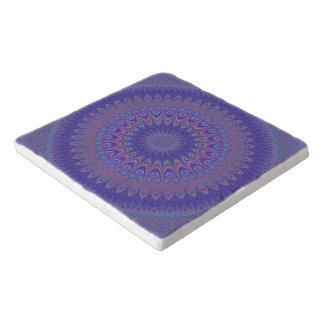 Purple mandala trivet