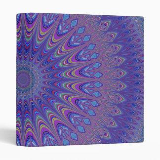 Purple mandala vinyl binder