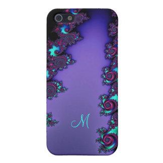 Purple Mandelbrot Fractal Design iPhone 5/5S Covers