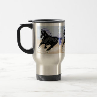 Purple Mane Travel Mug