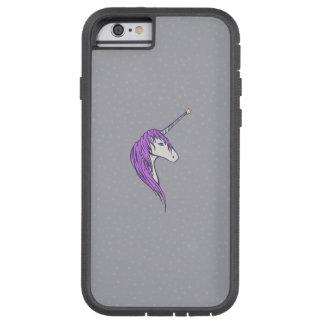 Purple Mane White Unicorn With Star Horn Tough Xtreme iPhone 6 Case