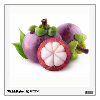 Purple mangosteens wall sticker