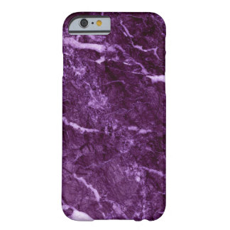 Purple Marble Barely There iPhone 6 Case