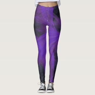 Purple Marble Leggings