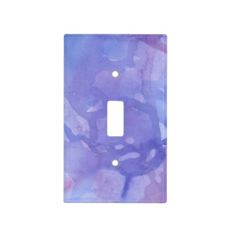 Purple Marble Light Switch Cover