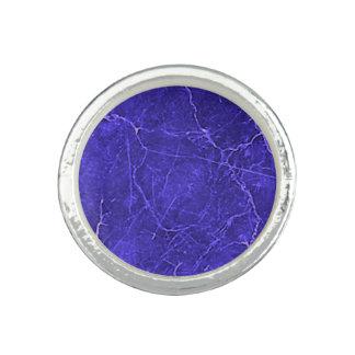 Purple Marble Ring