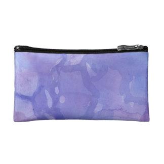 Purple Marble Watercolour Cosmetic Bag