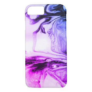 Purple Marbled Pattern Mug iPhone 8/7 Case