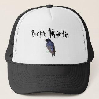 Purple Martin Trucker Hat