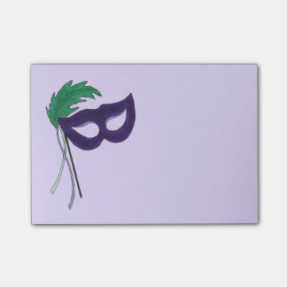 Purple Masquerade Mask Drama Theatre Post Its Post-it® Notes