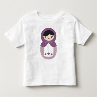 Purple Matryoshka Doll Toddler T-shirt