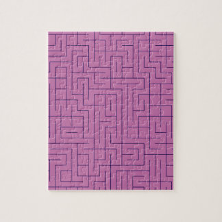 Purple Maze Jigsaw Puzzle