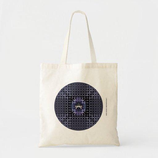 Purple Meditation Canvas Bags