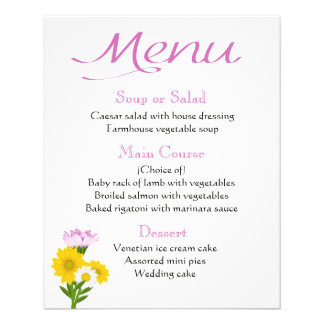 Purple Menu Sunflower, Daisy Flowers Yellow Floral