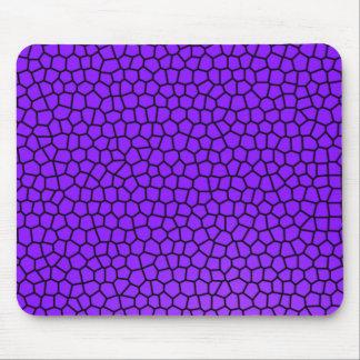 Purple Mermaid Print Mouse Pad