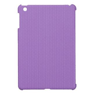 Purple Mini Polka Dots iPad Mini Cover