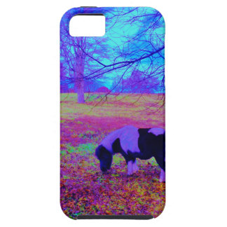 Purple miniature horse case for the iPhone 5