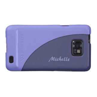 Purple Modern Samsung Galaxy S Cover
