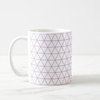 Purple Modern Geometric Mug