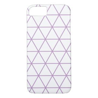 Purple Modern Geometric Phone Case