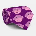 Purple Monkey Tie