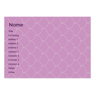 Purple Monster - Chubby Large Business Card