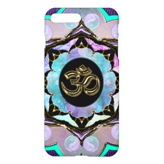 Purple Moon Mandala Golden OM iPhone 7 Plus Case
