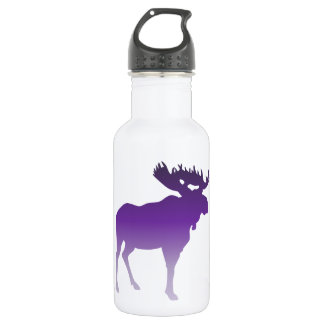 Purple Moose 532 Ml Water Bottle