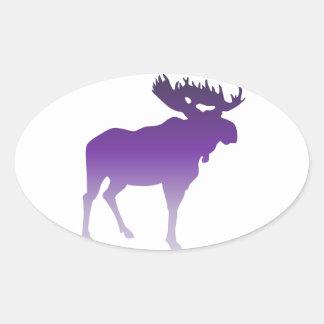 Purple Moose Stickers