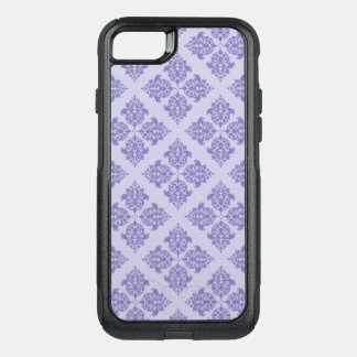 Purple Moroccan Damask OtterBox Commuter iPhone 8/7 Case